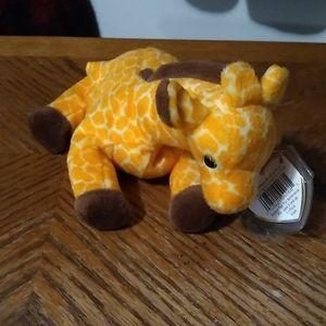 Twigs the giraffe: beanie baby